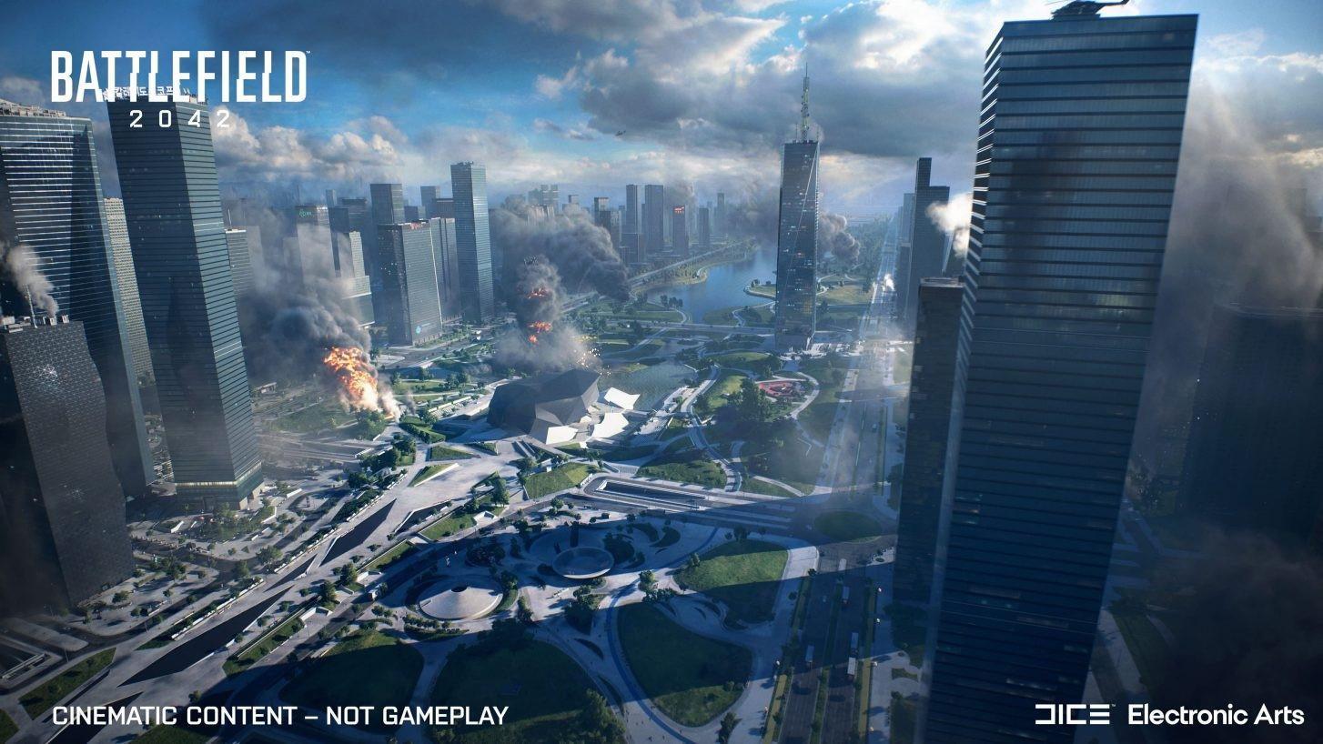 Официальный анонс Battlefield